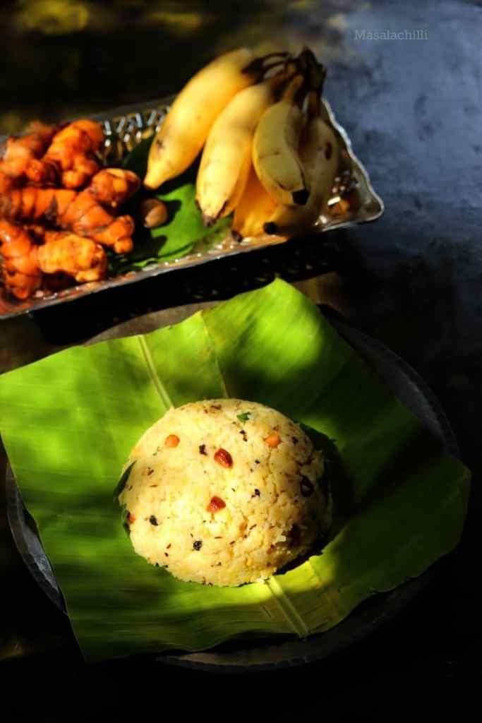 Restaurant Style Ven Pongal