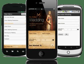 Indian Wedding App:  Planning a Big Fat Indian Wedding