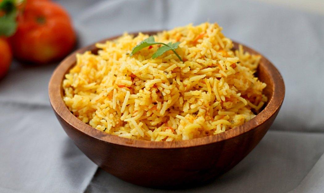 Indian Spiced Tomato Rice | Masalamommas