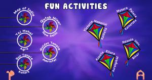 Screen shot 3 Fun-activities menu