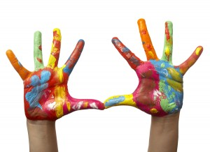 bigstock-Color-Painted-Child-Hand-6363248