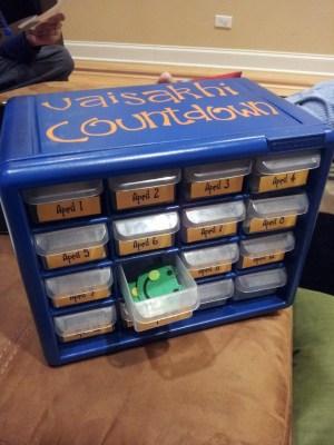 Vaisakhi tools for kids a countdown calendar
