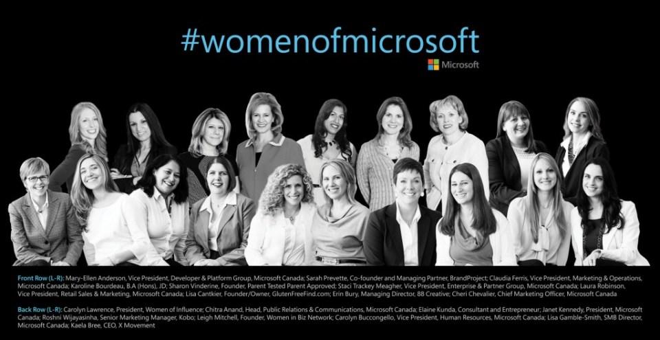 Women of Microsoft