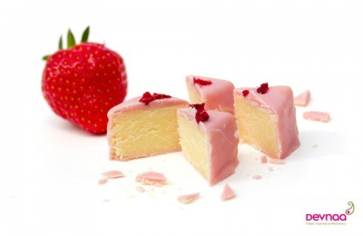 Devnaa Strawberry Barfi