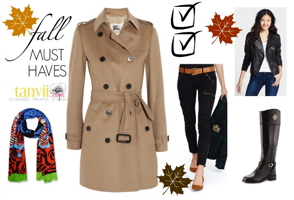 Fall Must Haves Tanvii.com