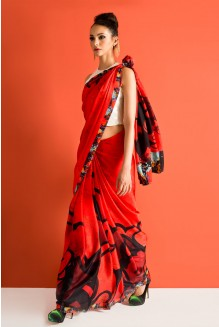 minnie rouge saree