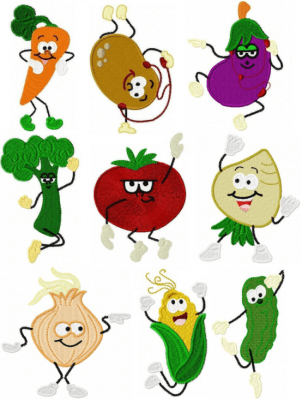 Dancing Veggies
