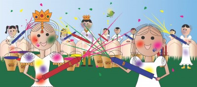 Kids' Book Brings Holi Celebration to Life