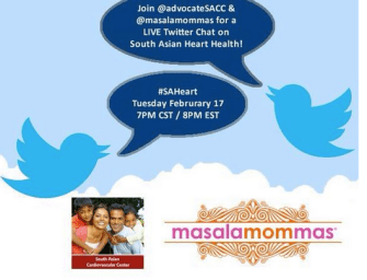 Twitter Chat Recap on South Asian Heart Health
