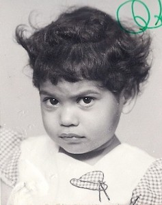 Kripa as a young child Photo Credit: Kripa Cooper-Lewter