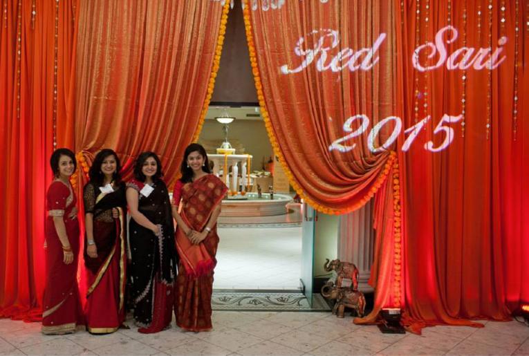 Red Sari Event 2015