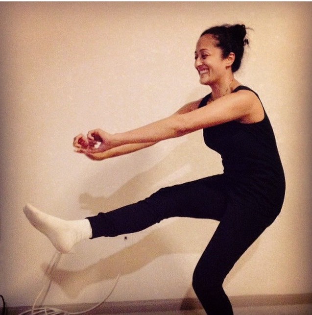 Stretches and balance training