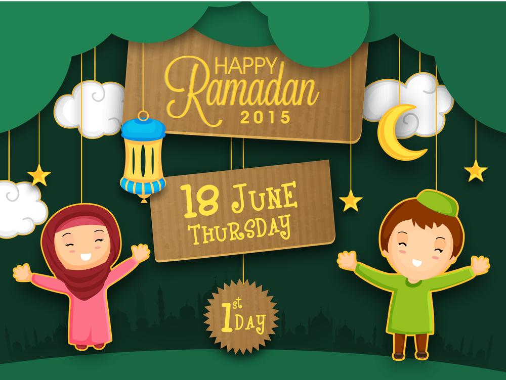 Holy month of Muslim community, Ramadan Kareem celebration with