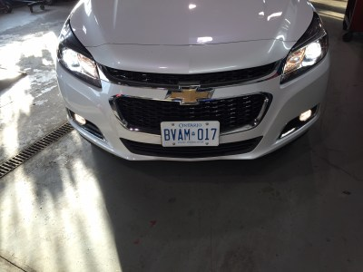 Chevy Malibu lights