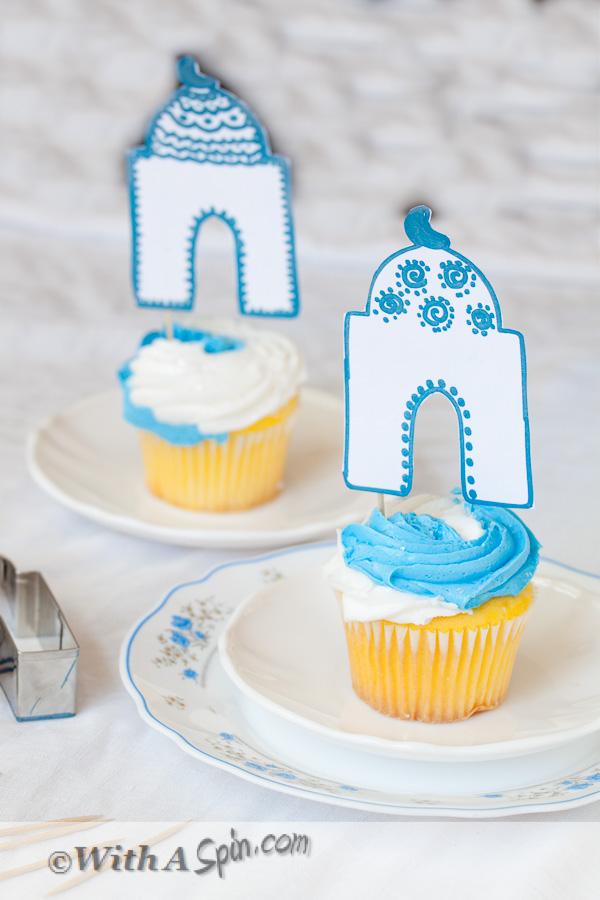 Masjid Cupcake Topper