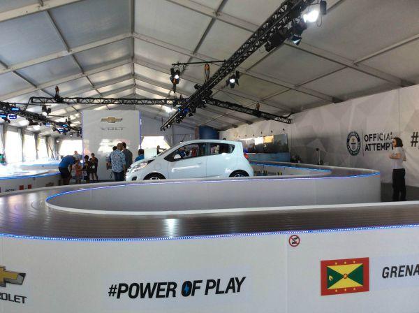 Chevrolet Volt Panam games