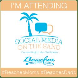Social media on the sand