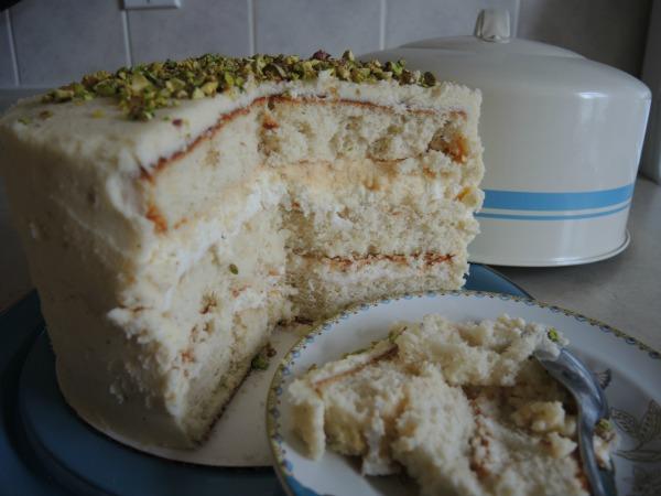 cardamom cream cake ras malai