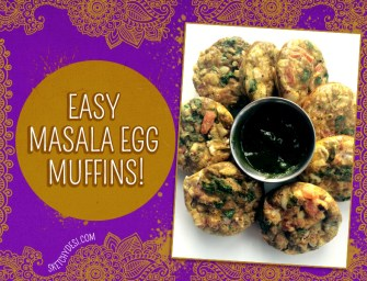 Recipe: Masala Egg Muffins