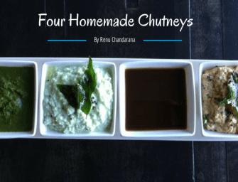 4 Easy Homemade Chutneys