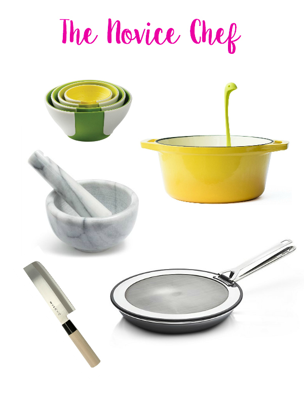 tools for the novice in the kitchen