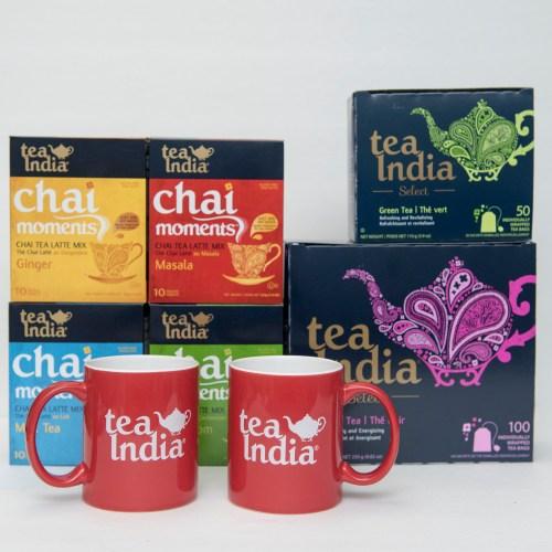 Holi tea giveaway