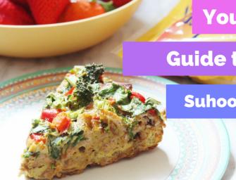 Two Healthy Suhoor Recipes