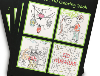 My First Eid – A Colouring Book by Desi Babies