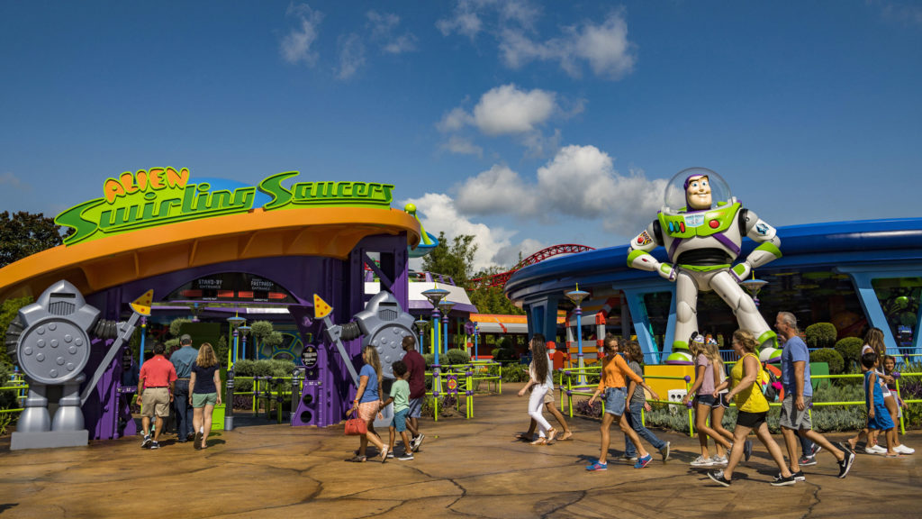 Toy Story Land at Disney
