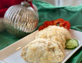 Keema Empanadas with Ground Turkey and Masala