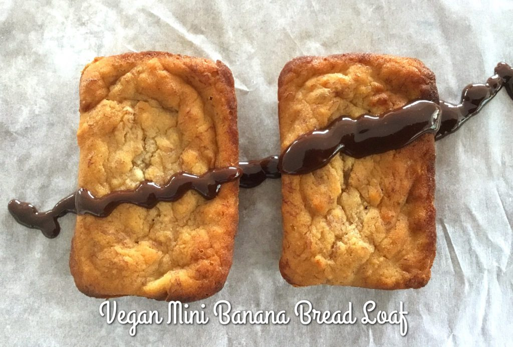 Vegan Wholemeal Banana Bread Mini Loaf