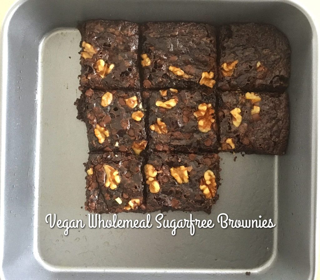 Vegan Chocolate Wholemeal Slice