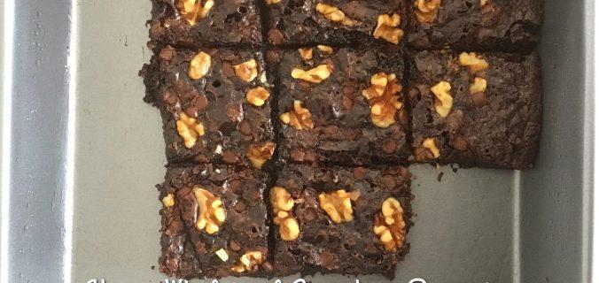 Vegan Chocolate Wholemeal Slice