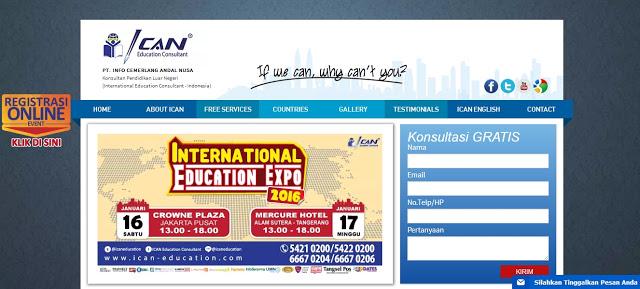 ICAN Education Consultant, Konsultan Pendidikan Luar Negeri