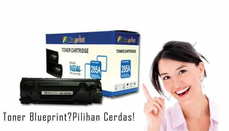 Rekomendasi Tinta Laser Toner Blueprint Hitam, Hemat & Handal