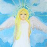 天使アートご感想『 涙が出てきました。誰かに言ってほしかった言葉が、そこにはありました。』