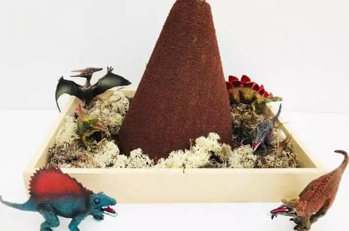Make Your Own Volcano Foam Cone