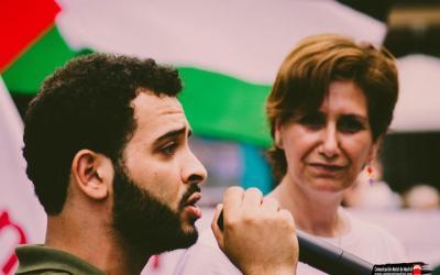 مقابلة اذاعية مع محمد الخطيب عضو اللجنة التحضيرية