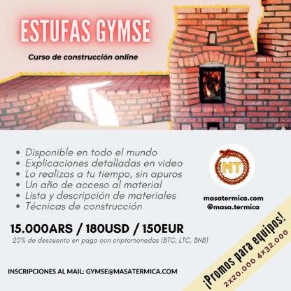 Curso de construcción de Estufas Gymse