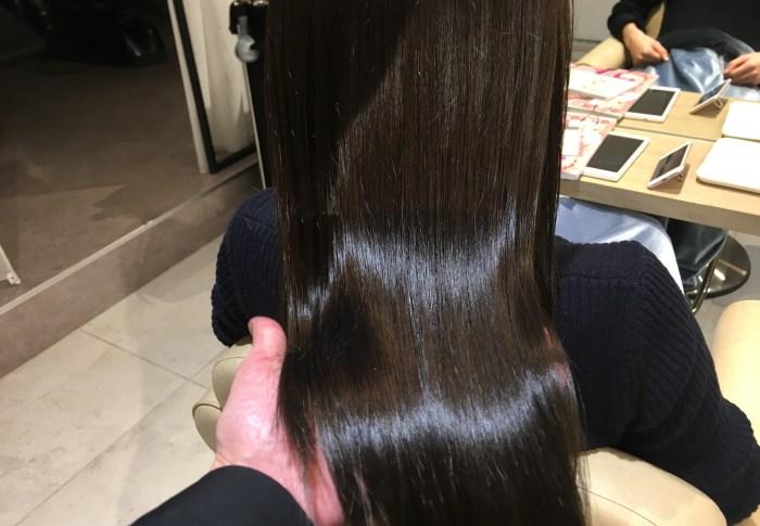 ツヤのある髪には秘密があった!!それはカラーでできるらしい。。。