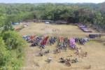 Upacara HUT Ke-74 Kemerdekaan RI di Desa Masawah