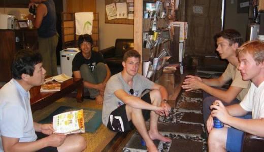 「日本国内のゲストハウスは日本人も泊まれるの?」泊まれます!楽しいよ!