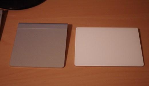 Magic Trackpad2レビュー|1が壊れて買い換えた比較感想