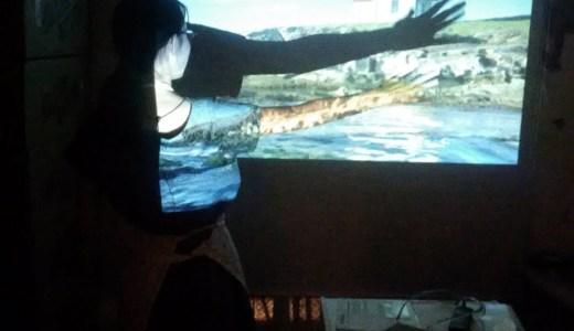 プロジェクターのスクリーン代用にはニトリの格安ロールスクリーン!