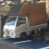 Polcaで修理代応援してもらって軽トラハウスのタイヤのパンク修理!