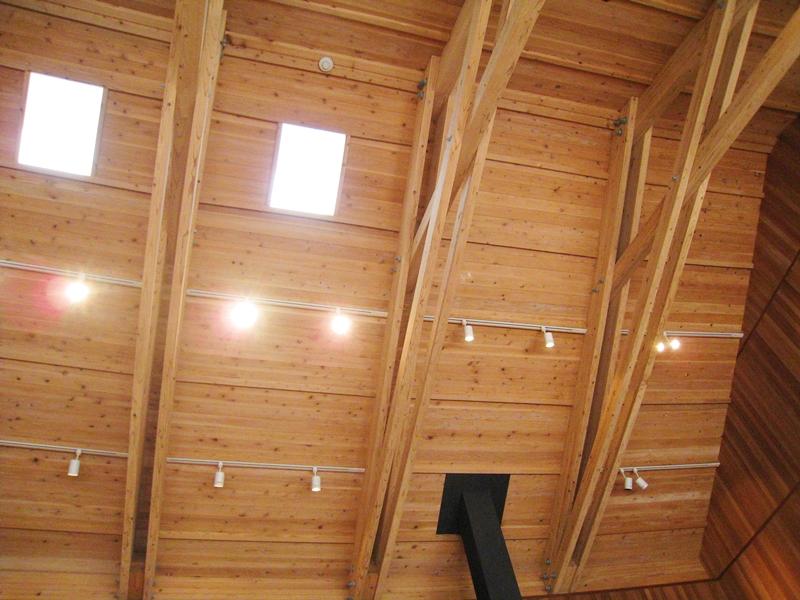 とらやカフェの天井