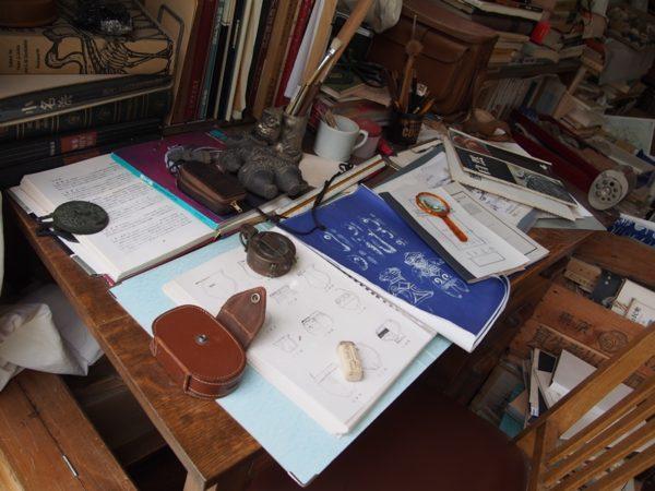 サツキとメイの家のお父さんの書斎