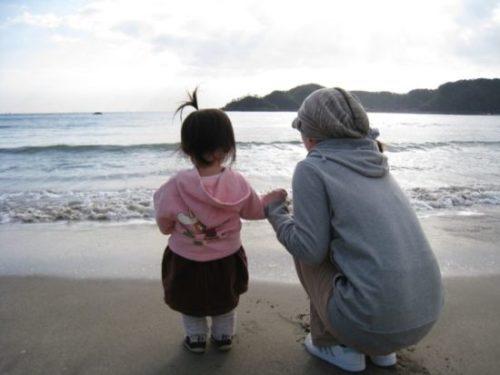 伊豆に住むと広い海が見られる