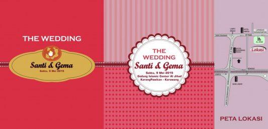 Download Desain Undangan Pernikahan Format Vector - Undangan-Santi-B-1024x494