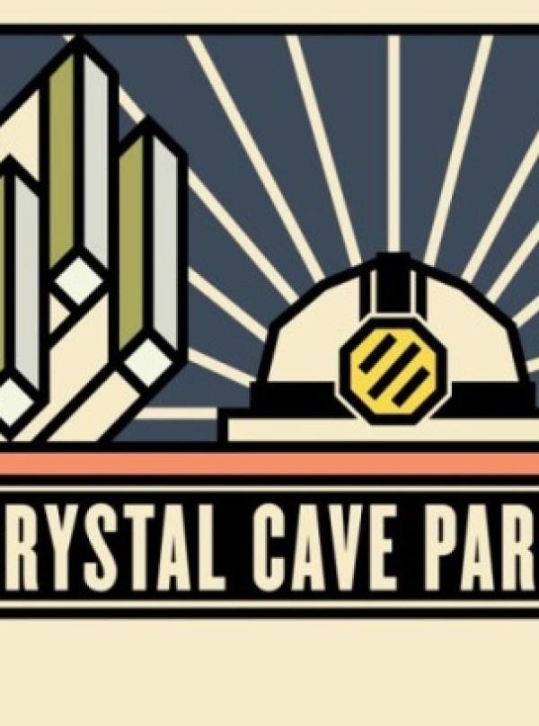 Contoh Desain Brosur Desain Kreatif - Crystal Cave Park 1